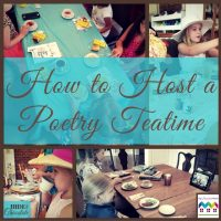 How to Host a Poetry Teatime