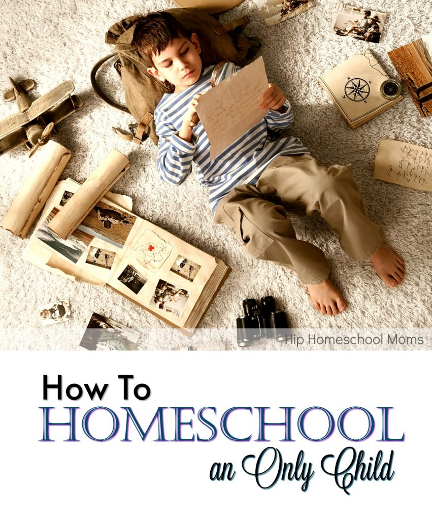 how to homeschool an only child
