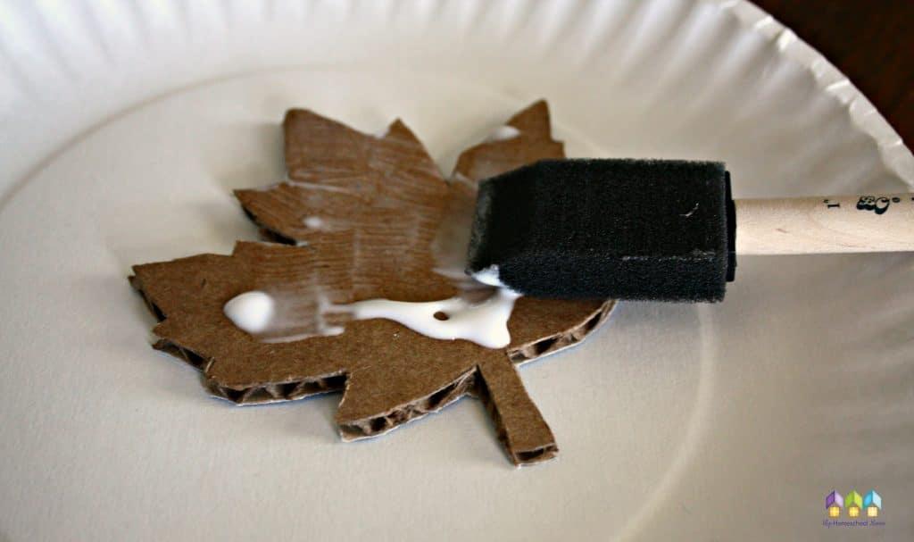 gluing leaf magnet