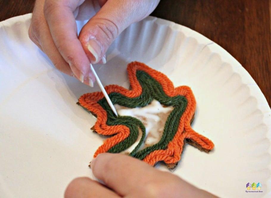 making leaf magnet