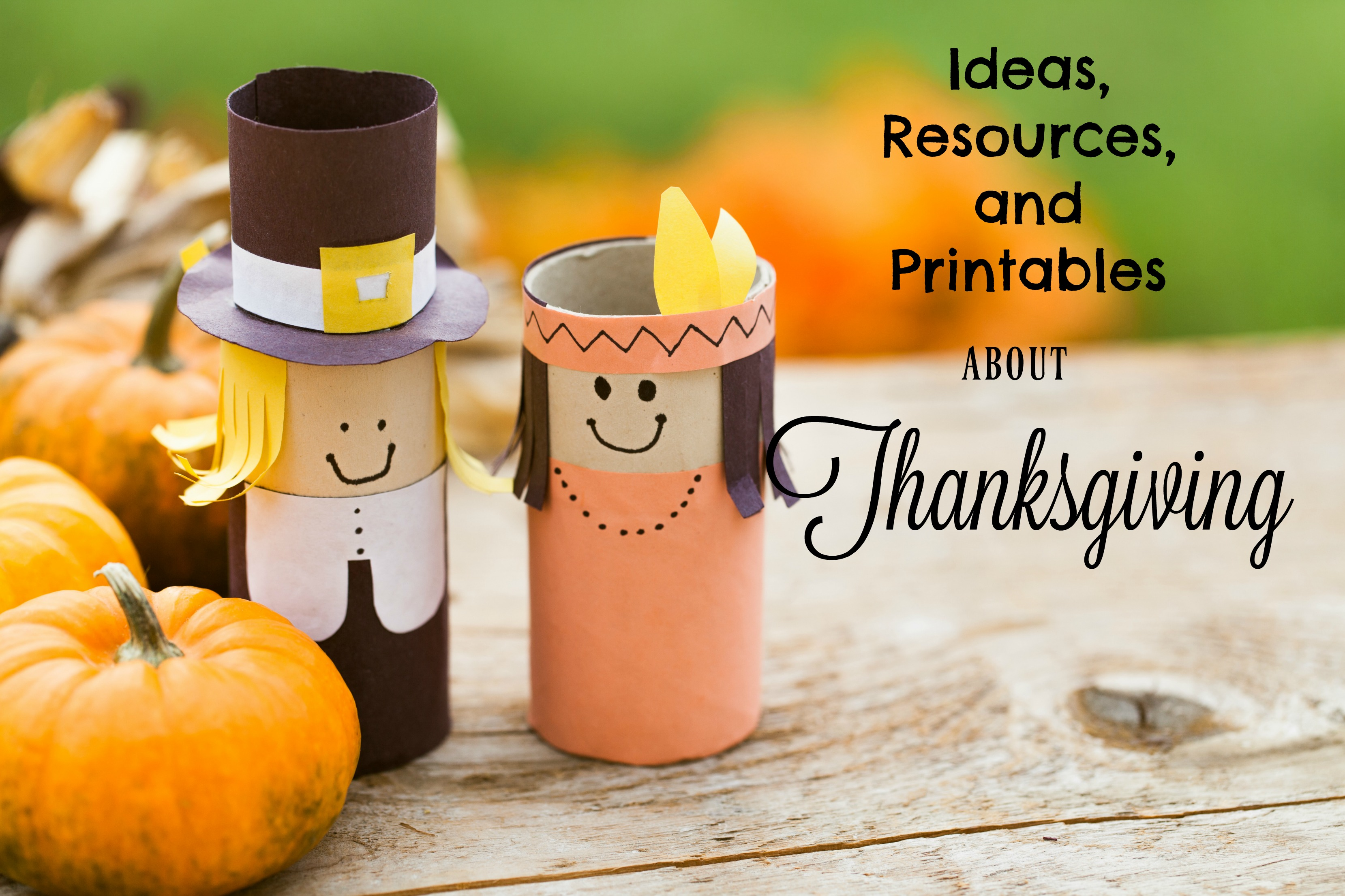 This is a great collection of lots of Thanksgiving ideas and activities!