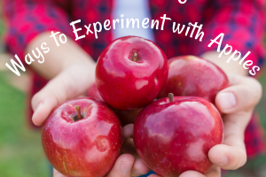 Here are some fun and easy experiments to do with apples!