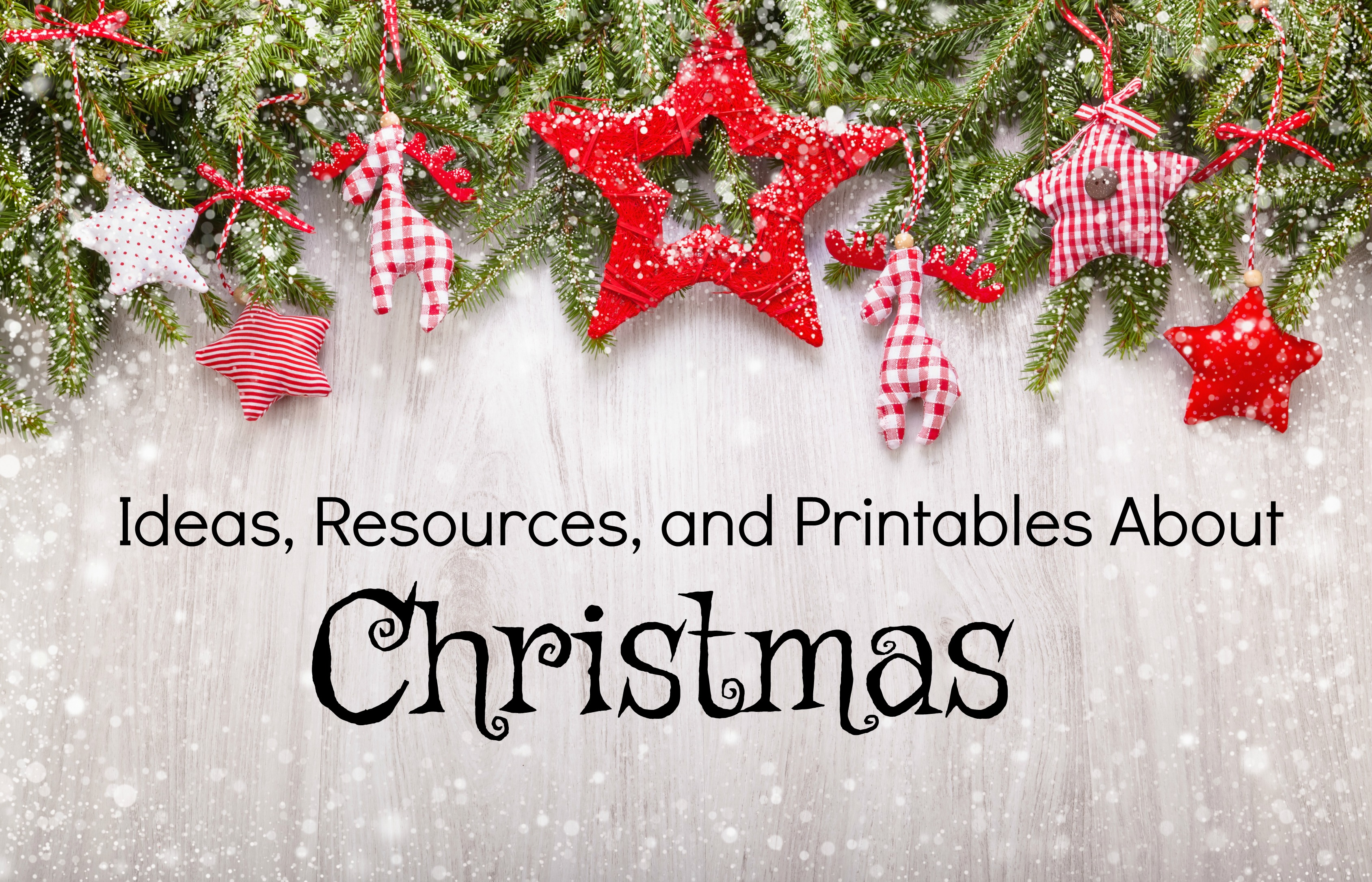 This is a great collection of lots of Christmas-related activities and ideas!