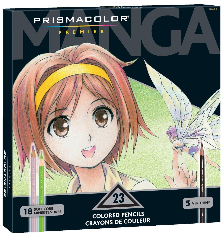 DEAL ALERT: Prismacolor Premier Colored Pencils, Manga Colors - 76 ...