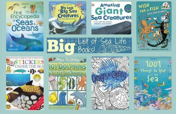 Big List of Sea Life Books