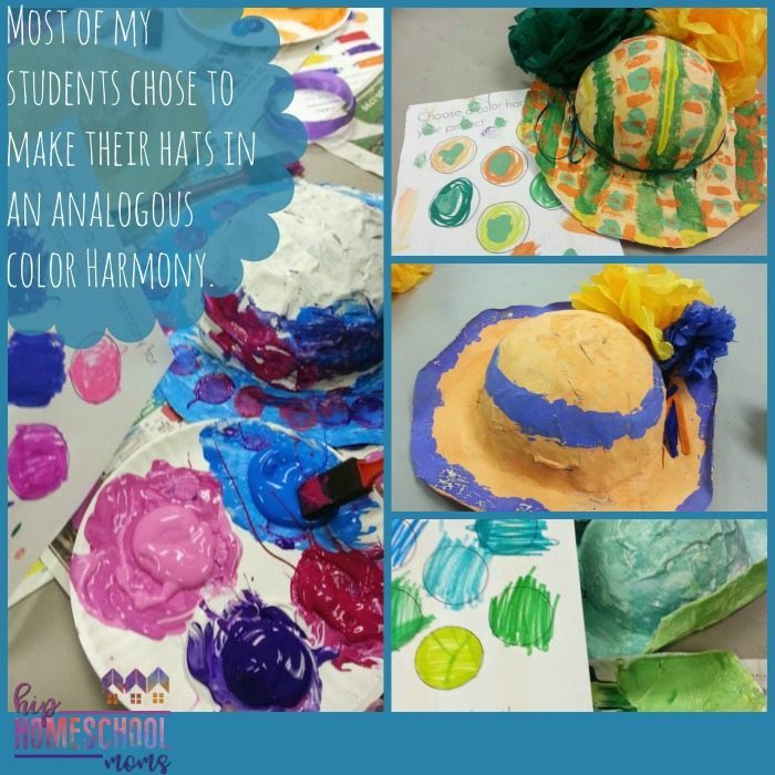 Mary Cassatt Hats Art Lesson