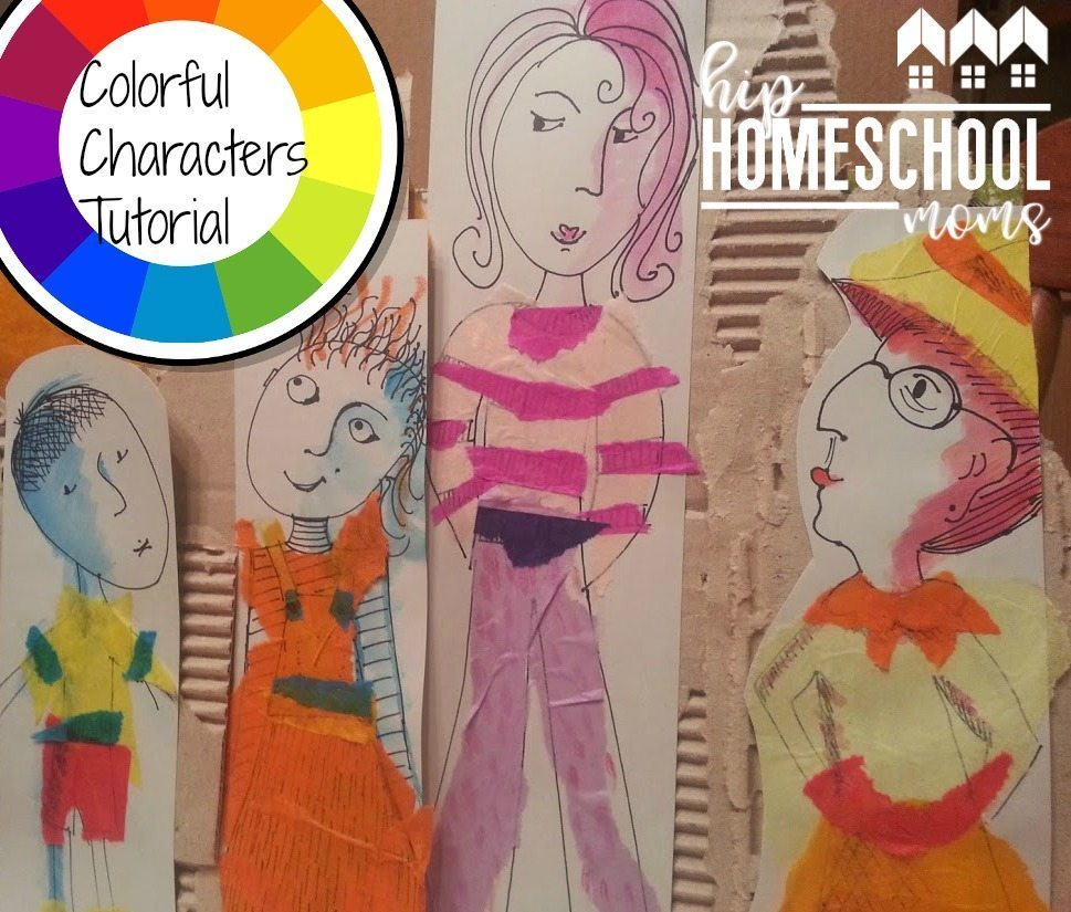 Color Harmonies Art Project | Hip Homeschool Moms