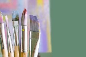 painbrushes for art projects