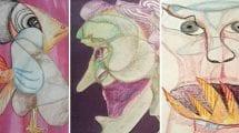 scribble art monster examples