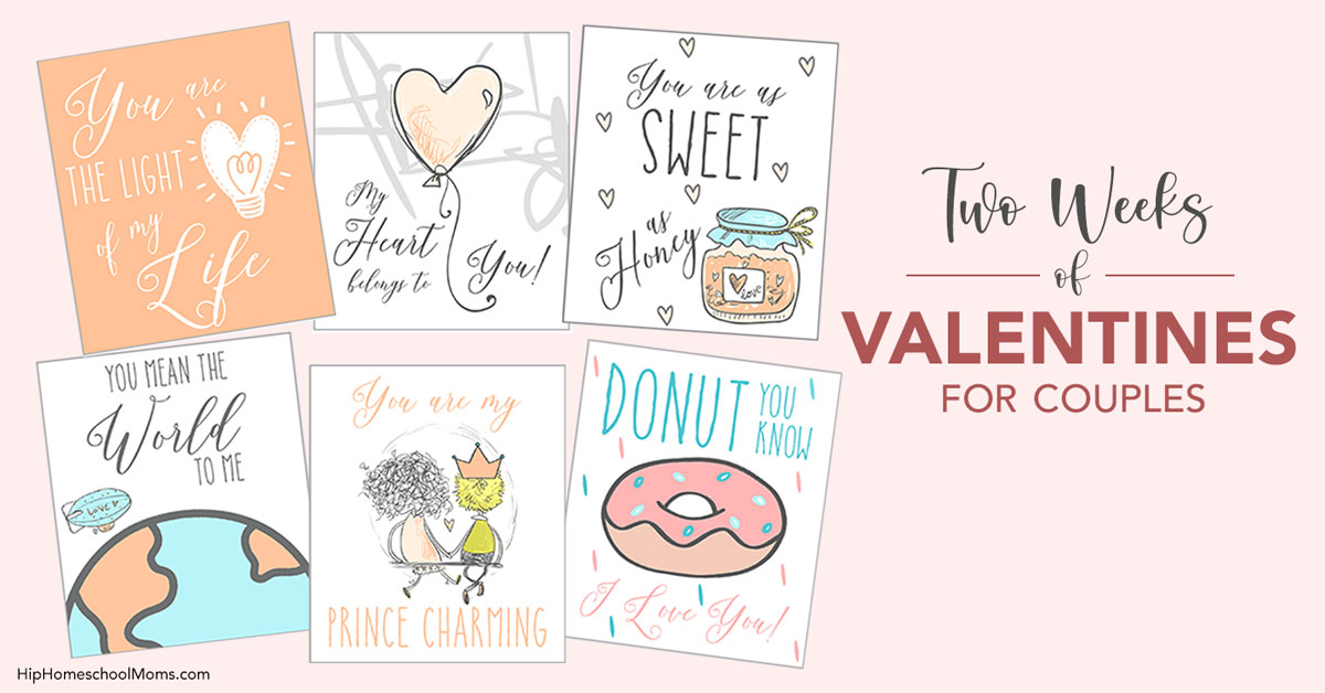 14 valentines for your husband