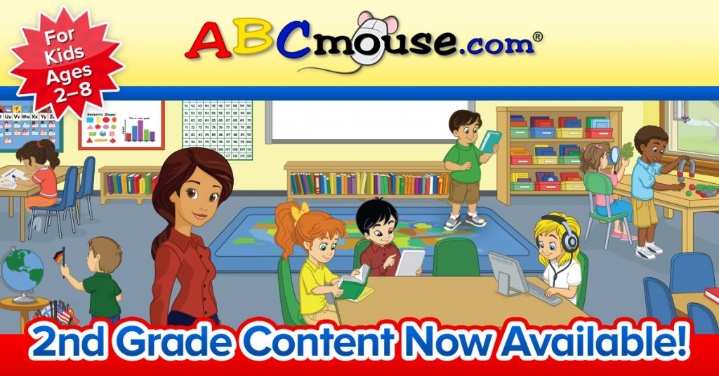 DEAL ALERT: ABCmouse com Launches New 2nd Grade Curriculum