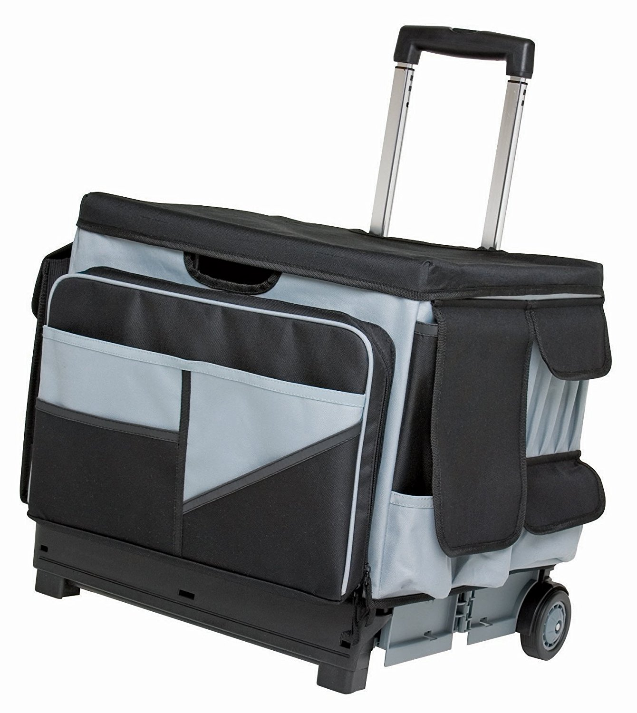 Deal Alert Universal Rolling Cart And Organizer Bag Set 40 Off Hip Homeschool Moms