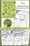 Tree Notebook Pages!
