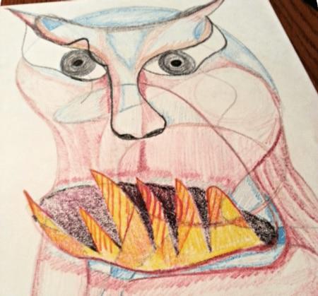 scribble art step 3