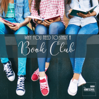 Want to start a book club for your homeschooler? Read this post!