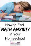 End Math Anxiety