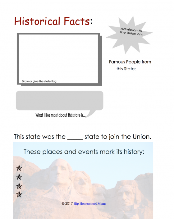 Historical Facts Page