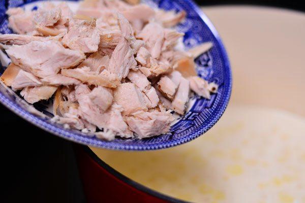 Easy One Pot Chicken Alfredo from Hip Homeschool Moms