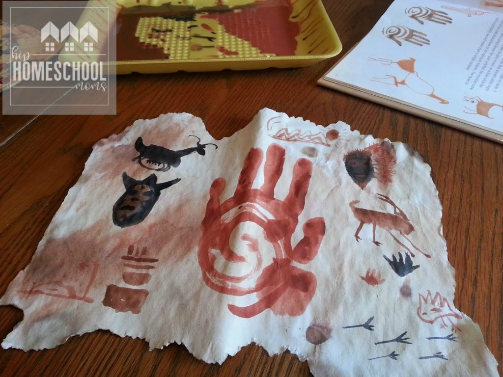 Cave Painting Project | Ice Age Activities