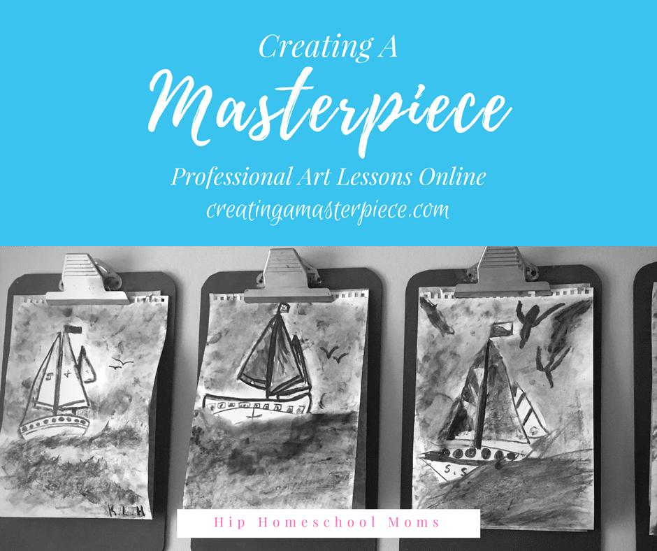 Creating a Masterpiece is a great homeschool art curriculum!