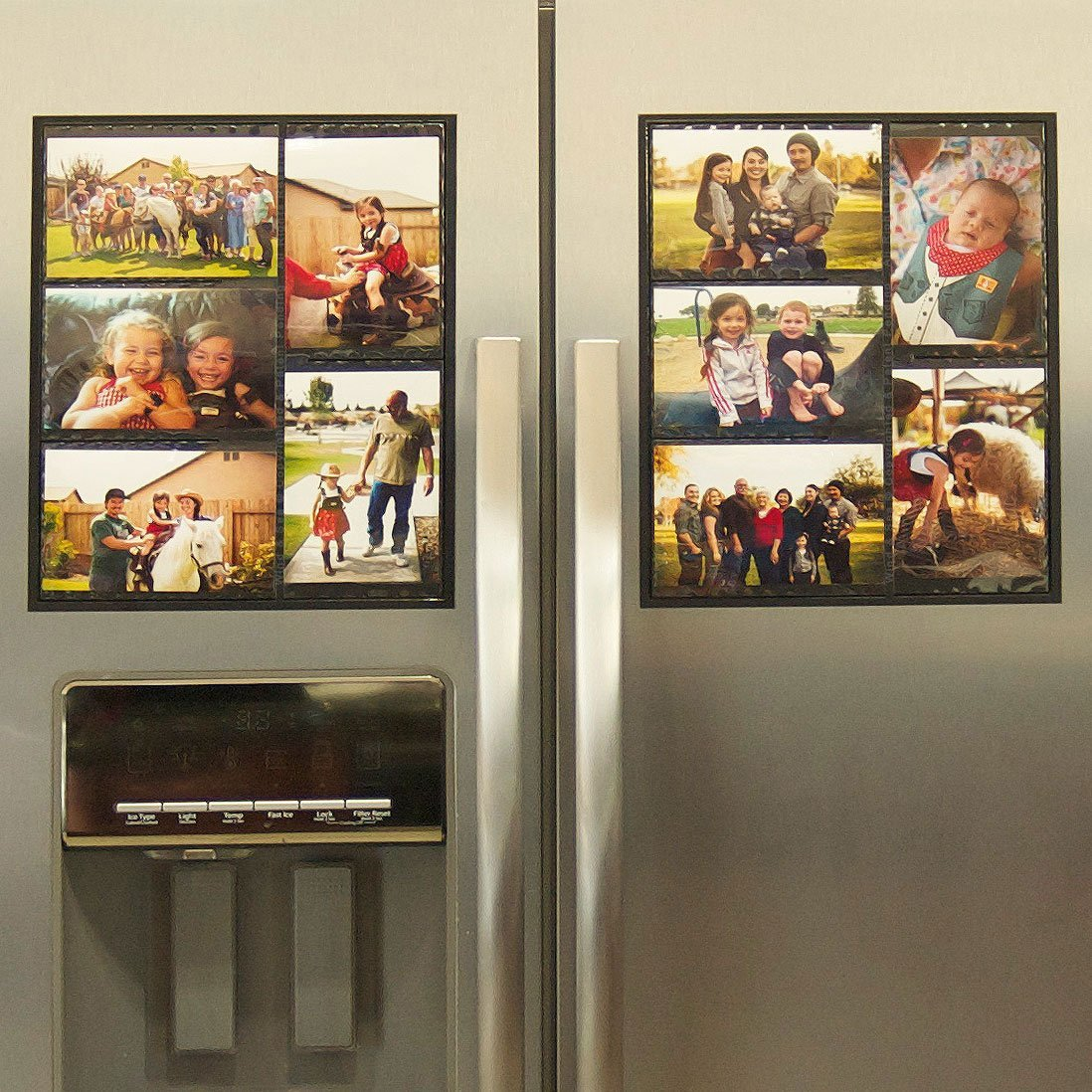 Fridge Picture Frame Magnets Picture Frame Ideas