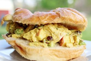 Picnic Curry Chicken Salad from Hip Homeschool Moms