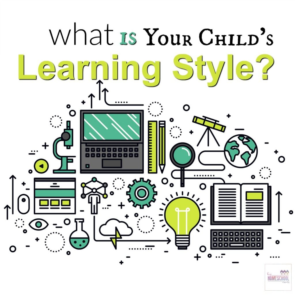 This is a great post for homeschooling moms who want to learn more about their children's learning styles!