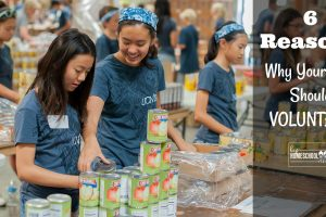 Here are 6 great reasons why your teen should do volunteer work!