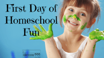 5 easy ways to make the first day of homeschool special!