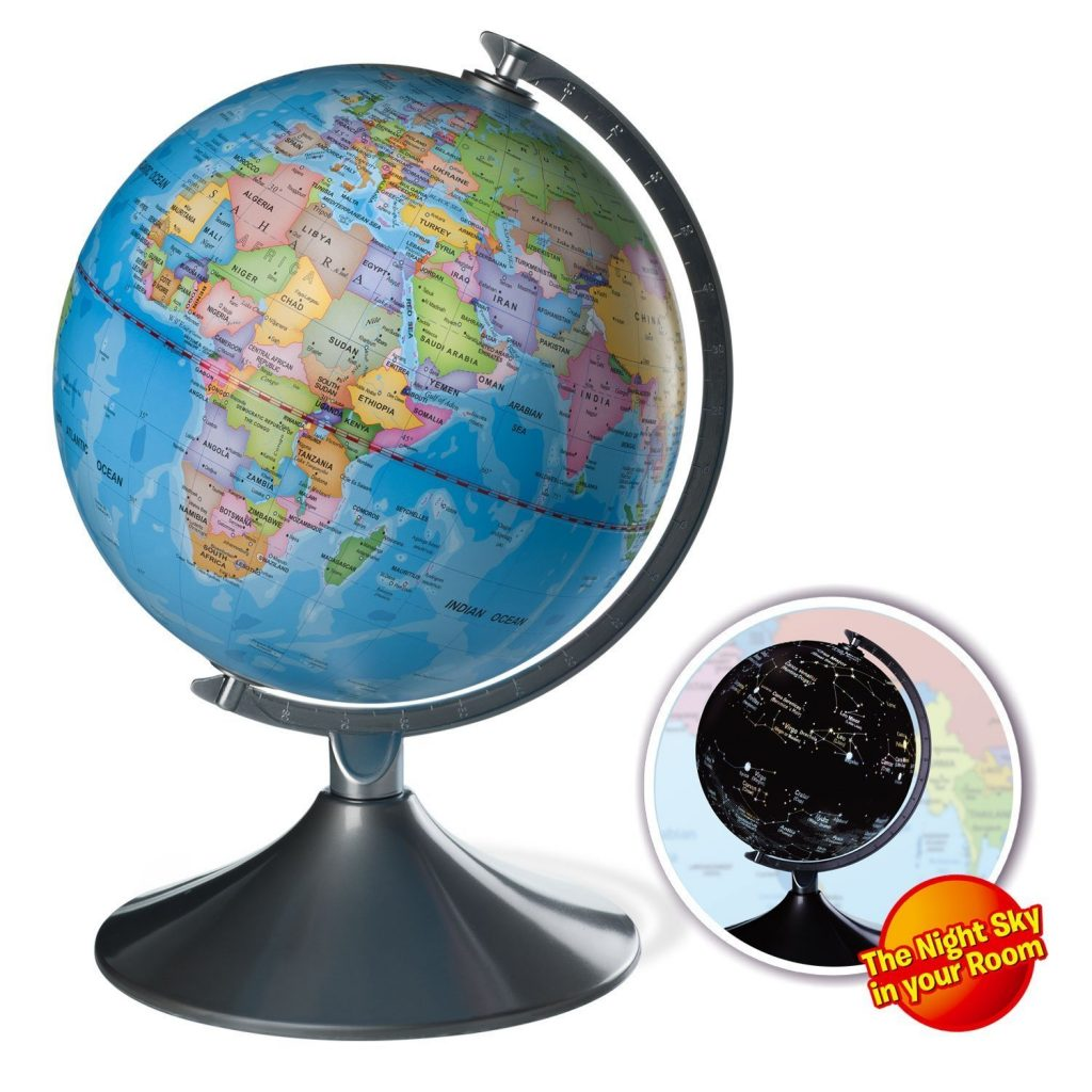 Lightning deal alert interactive globe for kids 2 in 1 day view interactive globe for kids 2 in 1 day view world globe and night view illuminated constellation map 33 off number of stars 41 out of 5 gumiabroncs
