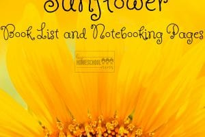 Fun and easy sunflower unit study ideas!