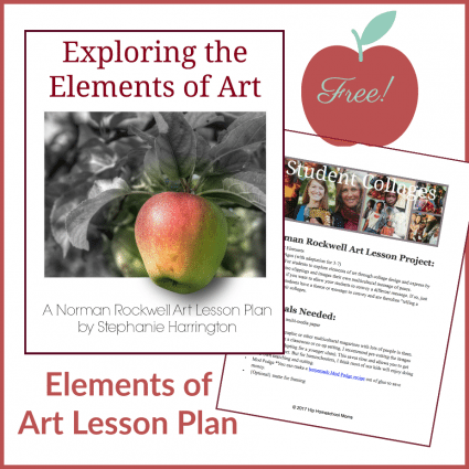 Explore the Elements of Art Free Lesson Plan