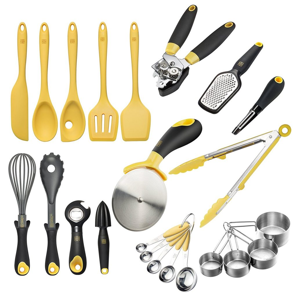 Zestkit Deluxe Silicone Cooking Utensils Set (23 Pieces) U2013 72% Off! Number  Of Stars: 5 Out Of 5.