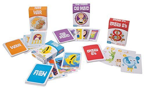 deal alert ideal children s 4 card games in tin 49 hip