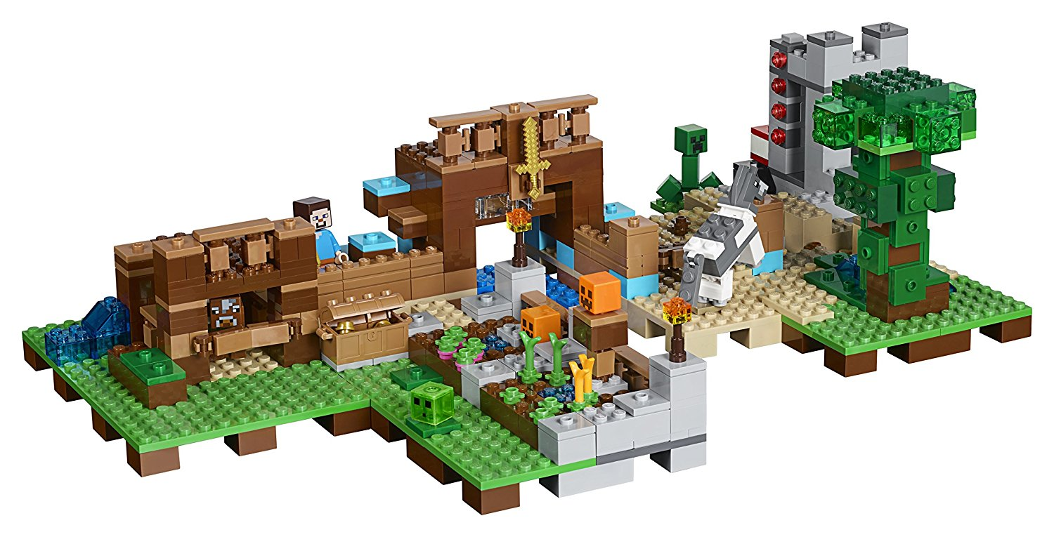 Deal alert lego minecraft the crafting box 2 0 21135 for Crafting and building 2