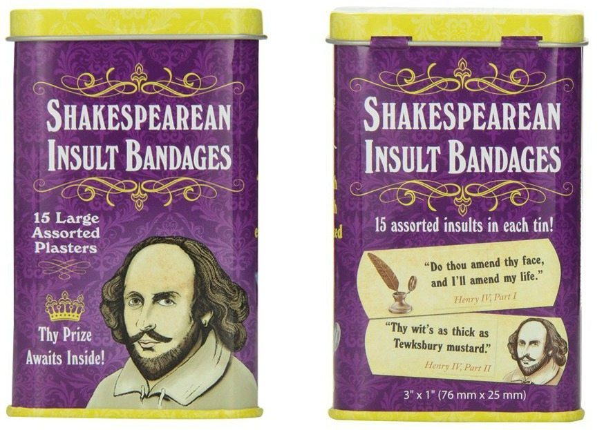 shakespearean insults A proper insult takes grace, imagination, gall, and, of course, bitterness verbosity also helps william shakespeare, known for his verbiage, is also known for the comebacks, insults, and slurs that he employed through his characters while not one for avoiding physical attacks - including sword.
