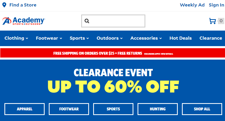 Deal alert academy sports outdoors sale 60 hip for Academy sports fish finders
