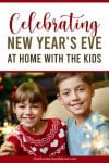 kids celebrating on New Year's Eve