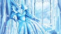 snow queen in winter