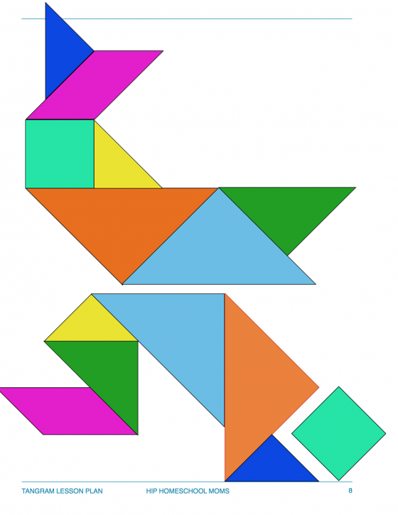 Tangram Puzzle page