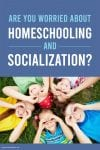 HHM Are You Worried About Homeschooling and Socializiation PIN1