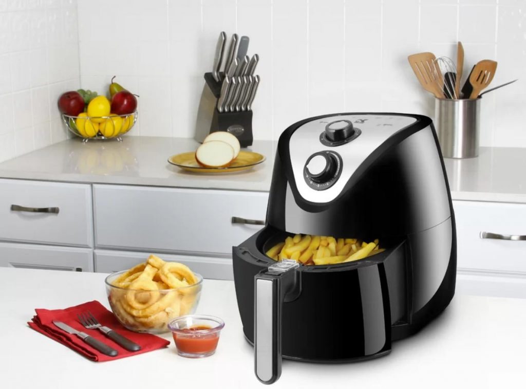 ive been wanting to try one of these i think ill add this to my own cart - Think Kitchen Air Fryer