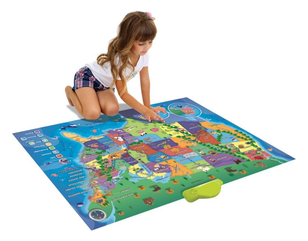 DEAL ALERT: Electronic Kids Map of the United States - 67 ...