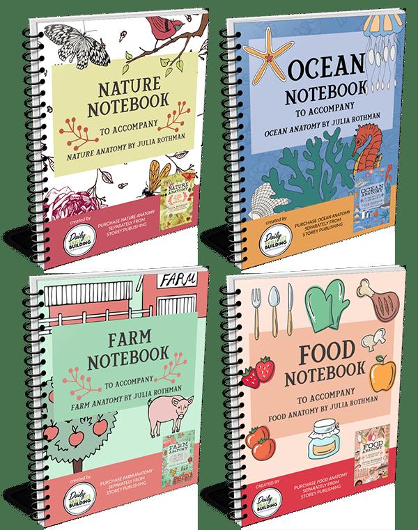 Julia Rothman Companion Notebook Series
