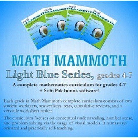 DEAL ALERT: Math Mammoth Light Blue Download Bundle 25% off | Hip ...