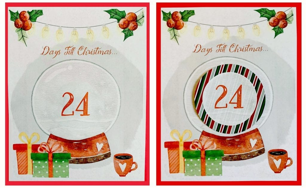 graphic regarding Christmas Countdown Printable named Cost-free Xmas Countdown Printable Hip Homeschool Mothers