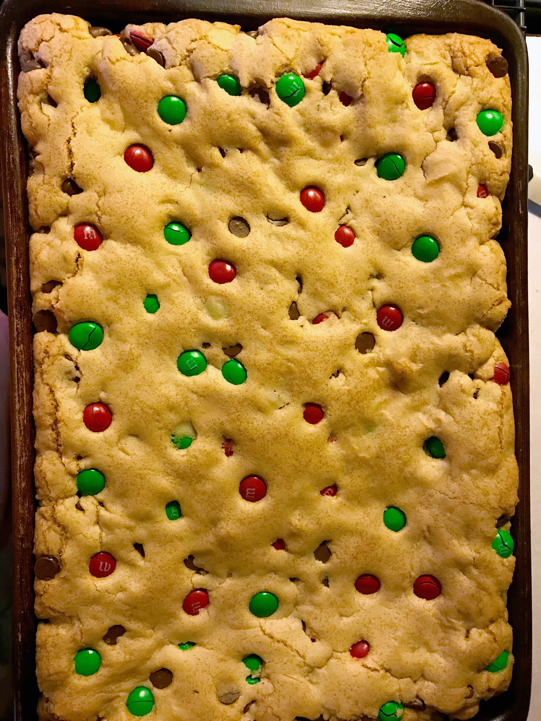 M&M Bars Recipe