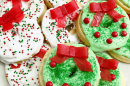 Christmas Wreath Cookies Recipe