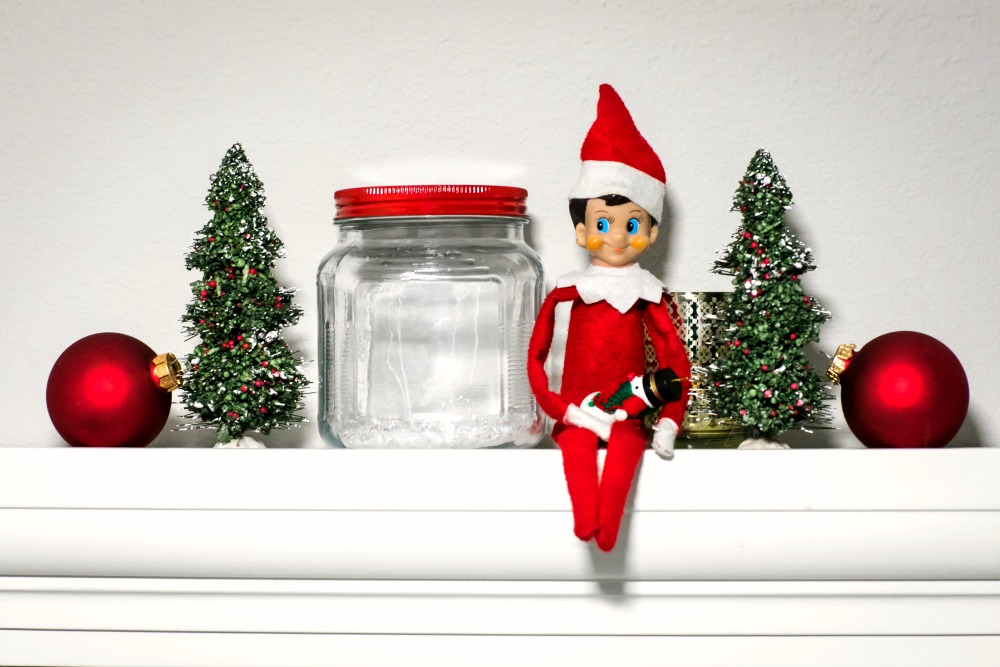 Homeschooling with Elf on the Shelf