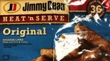 Jimmy Dean Sausage package that is being recalled